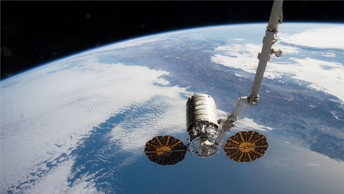 S.S. Katherine Johnson Cygnus Spacecraft